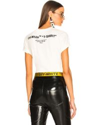 Off-White c/o Virgil Abloh - Quotes Casual Tee - Lyst