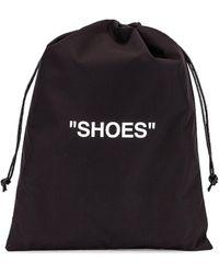 Off-White c/o Virgil Abloh Shoes Pouch Bag - Schwarz