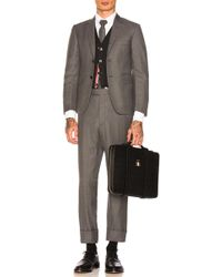 Thom Browne Classic Wool Suit - Grey