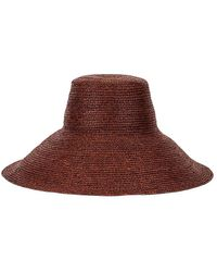 Janessa Leone Holland Packable Hat - Brown