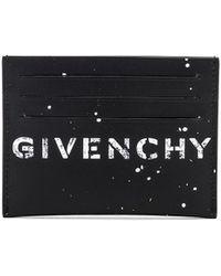 Givenchy - Graffiti Logo Cardholder - Lyst