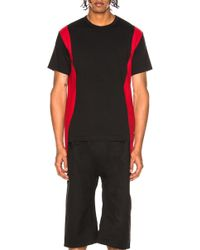 Comme des Garçons - Cotton Jersey With Wool Cloth - Lyst