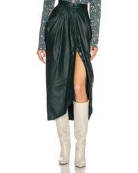 Isabel Marant Lyvia Skirt - Green