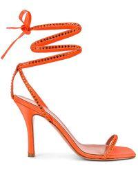 AMINA MUADDI Vita Sandal - Orange