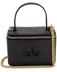 Valentino Vanity Case - Black
