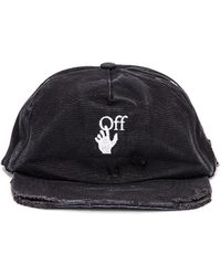 Off-White c/o Virgil Abloh New Baseball Cap - Schwarz