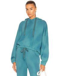 The Upside Moonstone Amelie Hoodie Sweatshirt - Blue