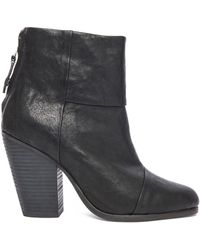 Rag & Bone - Classic Newbury Leather Boots - Lyst