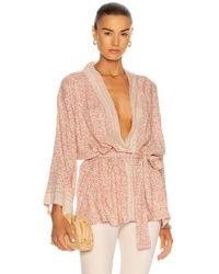 Natalie Martin Saylor Kimono - Pink