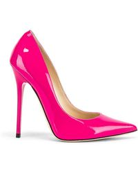 Jimmy Choo For Fwrd Anouk 120 Patent Heel - Pink