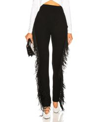 David Koma - Side Fringe Trousers - Lyst