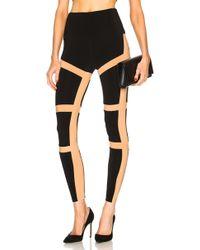 Norma Kamali | Spliced Legging | Lyst