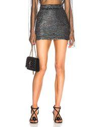 Ashish For Fwrd Sequin Mini Skirt - Multicolor