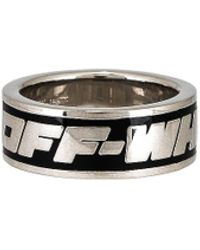 Off-White c/o Virgil Abloh 2.0 Industrial Silver-tone Brass Ring - Metallic