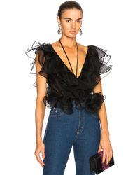 1e0043b4ca323 Johanna Ortiz - Zambezi Silk Organza Bodysuit - Lyst