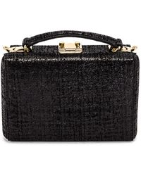 Mark Cross Mini Grace Swanky Bag - Black