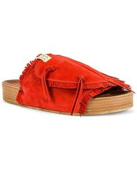 Visvim Christo Sandal - Rot