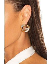 Givenchy G Chain Medium Earrings - Mettallic