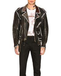 Enfants Riches Deprimes - Subhumans Leather Jacket - Lyst
