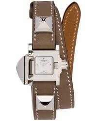 Hermès Medor Mini - Brown