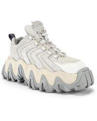 Eytys Halo Veloursleder-Sneaker - Weiß