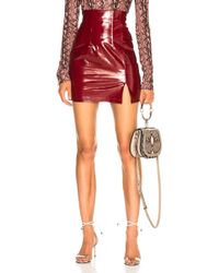 Zeynep Arcay - Leather Mini Skirt - Lyst