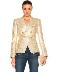 Shop Women's Balmain Jackets from $100 | Lyst