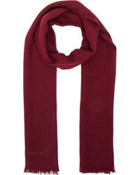 Burberry Prorsum - Wool Cashmere Long Scarf - Lyst