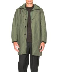 Engineered Garments - Double Cloth Chester Coat - Lyst