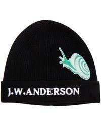 JW Anderson - Snap Detail Beanie - Lyst