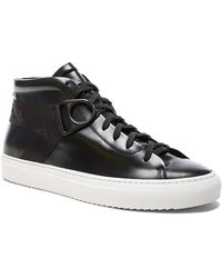 OAMC - Leather Airborne Mid Sneakers - Lyst