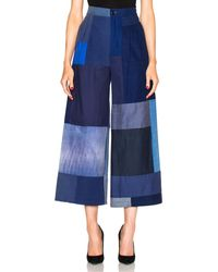 Rodebjer - Mina Patchwork Jeans - Lyst
