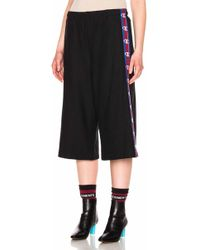 Vetements X Champion Shorts With Tape - Black