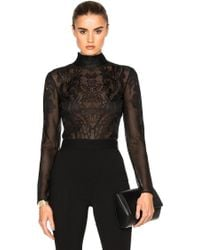 Zuhair Murad - Embroidered Bodysuit - Lyst