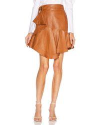 A.L.C. Amalie Skirt - Orange