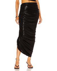 Norma Kamali Diana Long Skirt - Black