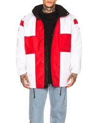 Vetements Flag Jacket - Red