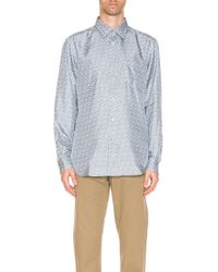 Burberry Classic Formal Shirt - Blue