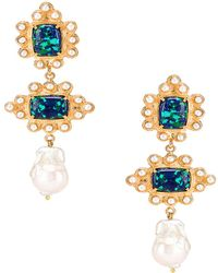 Christie Nicolaides Graciela Earrings - Metallic
