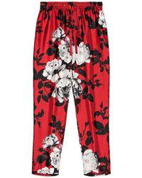 Dolce & Gabbana Pajama Trouser - Red
