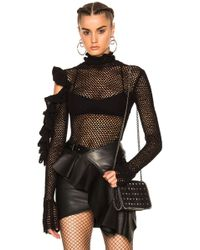 Magda Butrym Boa Vista Bodysuit - Black