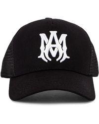 Amiri MA Logo Trucker Hat - Schwarz