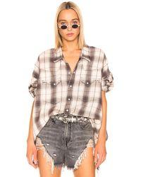 R13 - Oversized Cowboy Shirt - Lyst