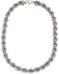 Loren Stewart - Xxl Rope Chain Necklace - Lyst