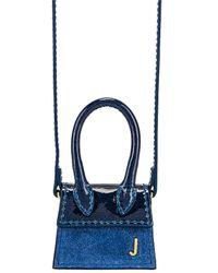Jacquemus Le Petit Chiquito Bag - Blue