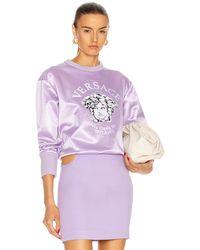 Versace Medusa Sweater - Lila