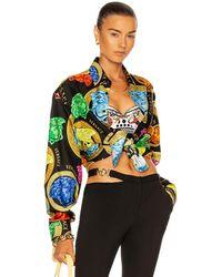 Versace Medusa Amplified Shirt - Schwarz
