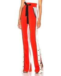 David Koma - Side Snap Trouser Trousers - Lyst