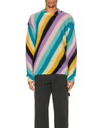 Loewe Stripe Mohair Jumper - Multicolour