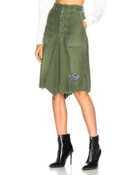 Icons - Patched Bandana Skirt - Lyst